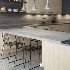 Kjøkkeninnredning - Nordisk fra Sigdal kjøkken Table, Fireplace Ideas, Interior Ideas, Furniture, Kitchen Ideas, Kitchens, Home Decor, Board, Bamboo