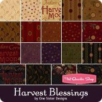 Harvest Blessings Yardage One Sister Designs for Henry Glass Fabrics