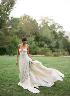PHOTOGRAPHY BY ELISA BRICKER / WEDDING DRESS BY CAROL HANNAH