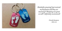 Review of our sibling keychains