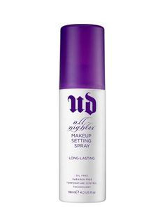 URBAN DECAY MAKEUP SETTING SPRAY ALL NIGHTER- Exclusieve geschenken - December - Webshop ICI PARIS XL
