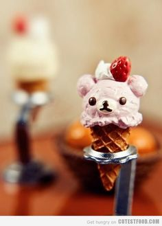 Bear Ice Cream  #artfood #Funny #creative #gastronomy #chef #cuisine #food #art #fooddesign #foodstyle #recipes #culinaryart #foodstylism #foodstyling #love #cute #amazing #instapic #foodies #foodie #nomnom #foodsharing #instagood