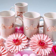Personalised Mugs printed  in rose gold ..gold ..silver ..R138 for one side  Whatsapp Gail 0832694164 Email marketing@ontrendmarketing.co.za #coffeemugs #personalisedmug  #giftsjohannesburg #giftsforher #sandton #fourways #rosebank #bryanston #randburg #m