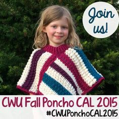 Crochet with Us - Fall Poncho CAL Introduction Post • Oombawka Design Crochet