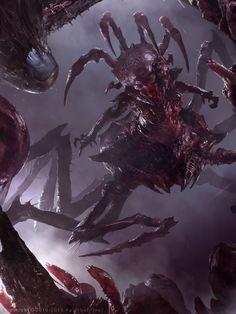 Demonic Queen (Advanced), Brad Rigney on ArtStation at http://www.artstation.com/artwork/demonic-queen-advanced