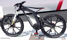 Anybody into bicycles? Audi's e-Bike. #Audi #cars #car #quattro
