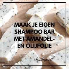 DIY Shampoo bar Making your own soap can be useful if you are looking for a shampoo that is free of sulphates, parabens and mineral oil. Diy Shampoo, Homemade Beauty, Diy Beauty, Beauty Hacks, Beauty Treats, Diy Bar, Lotion Bars, Healthy Beauty, Food Waste