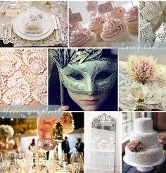 ~ Paris Vintage Chic / Venice Carnival Wedding Theme ~