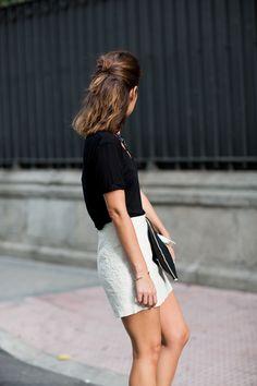 tee & skirt
