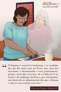 Espiritismo em imagens: Perda dos Entes Queridos
