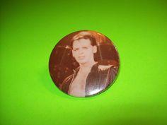 Scarce Original Large Badge Gary Numan 1980s New Wave Electro Synth Pop Pinback