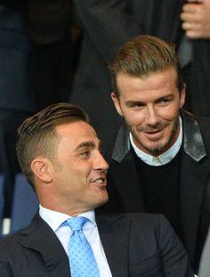 Fabio Cannavaro et David Beckham