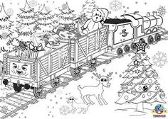 image detail for free coloring pages for kids printable christmas colouring pages - Detailed Christmas Coloring Pages
