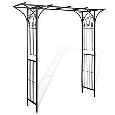 Garden Metal Rose Arch 200x206cm Outdoor Wedding Patio Arbor Gardman Arbour Gate