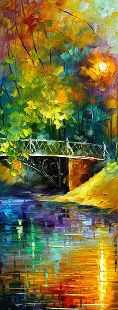 Aura Of Autumn 3 Painting by Leonid Afremov