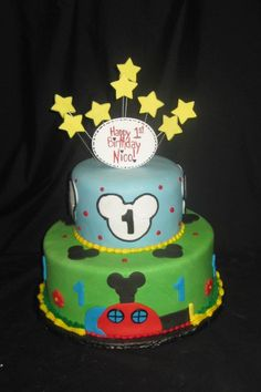 Kids Birthday Cake by Sweet Beginnings by Kristan