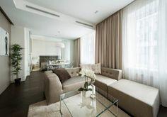 luxus apartment L-förmiges Sofa in Beige
