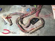 This is how you would make a Drive by cable harness for your ls swap. Ls Engine Swap, Car Engine, Lotus 7, Ls Swap, Truck Mods, Electrical Wiring Diagram, Diy Car, Engineering, Jeep Stuff
