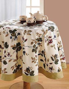 Pato algodón Ronda mantelería; 188 cm Diámetro 6 plazas; Spring Home Decor: Amazon.es: Hogar