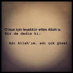 Çok dua ettim ki :))
