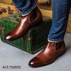 Why wear men's shoes? - Men's dress shoes - Ideas from men Dress shoes Fashion Mode, Mens Fashion Shoes, Look Fashion, Shoes Men, Asian Fashion, Men's Shoes, Tokyo Fashion, Korea Fashion, India Fashion
