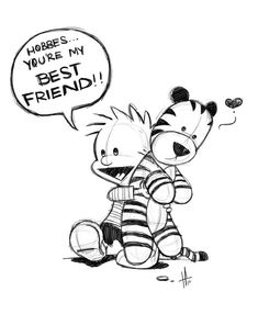 calvin and hobbes bff by tabby-like-a-cat.deviantart.com