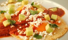 This Heuvos Racheros #recipe is #EGGcellent. #food