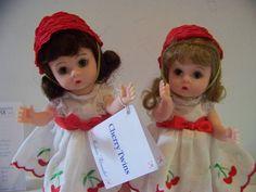 Cherry Twins Madame Alexander 8 in doll set by danishjane on Etsy