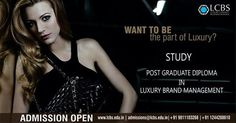 Here is your chance to be the part of world, Everyone have only dreams of. Learn luxury brand management with the most experienced luxury professionals and join the High league. #luxury #brand #mangement #student #career #professional #bigleague #highlife #luxurylife #automobiles #watches #Newdelhi #mumbai #banglore #kolkata #chandigarh #heydrabaad