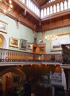 The Main Staircase - Tyntesfield - Wraxall - Somerset - England