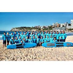The new Waverley council lifeguards photo for the 2013-2014 season :) ( bondi rescue)