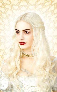 #queen #makeup #alice #wonderland