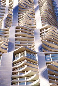 8 Spruce Street, New York by Frank Ghery. See more stunning architecture at http://glamshelf.com