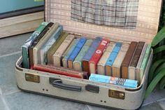 Libros y maletas...