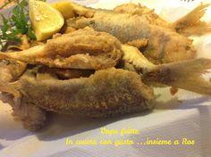 Vope fritte secondo di pesce