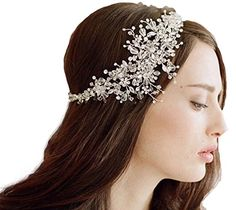 JESMING® Bridal Wedding Tiara Crown With Crystal Flowers JESMING http://www.amazon.com/dp/B0132V6DZE/ref=cm_sw_r_pi_dp_9nc4vb07AANYW