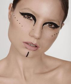 Tribal makeup-modern