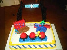 Television Character Cakes 1