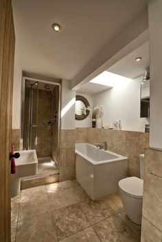 Beautiful bathrooms to match the bedrooms