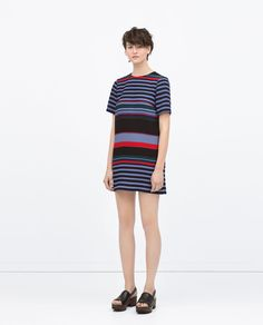 STRIPED DRESS - Dresses - WOMAN | ZARA United States
