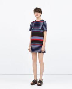 STRIPED DRESS - Dresses - WOMAN | ZARA United States