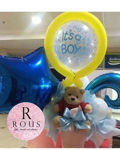 Los niños no se quedan atrás, también para ellos tenemos este hermoso arreglo de globos.🎈 #babyboy #bebe #rousgdp #rous #babyshower #newmom #newborn #balloons #globos #gifts #regalos #detalles #evedeso #eventdesignsource - posted by Rous Gift, Details and Planner https://www.instagram.com/rousgdp. See more Baby Shower Designs at http://Evedeso.com