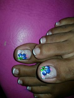 Pretty Toe Nails, Cute Toe Nails, Sexy Nails, Cute Toes, Pretty Toes, Toe Nail Art, Pedicure Designs, Toe Nail Designs, Pedicure Nails