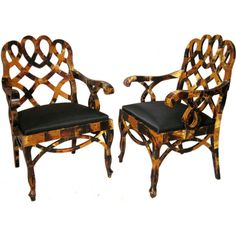 Pair Tessellated Horn Chair | From a unique collection of antique and modern armchairs
