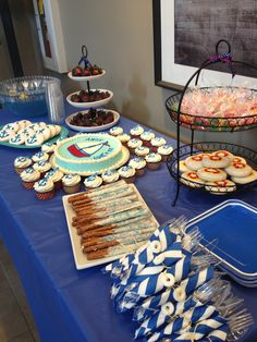 Nautical baby shower food @Katie Hrubec Schmeltzer Campbell @Michelle Flynn Flynn Ruiz