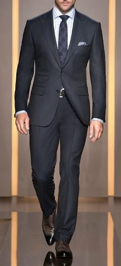 Stitch Fix Men - formal business attire, tailored suit, charcoal gray / black Grey Suit Shoes, Grey Suit Men, Tailored Suits, Trouser Suits, Trousers, Mens Fashion Suits, Mens Suits, Men's Fashion, Suits You Sir