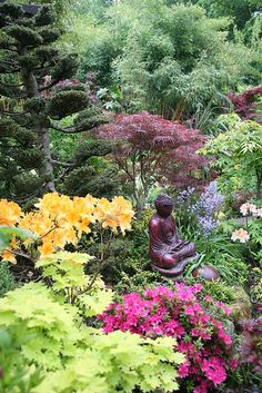 Middle garden Budha (May)