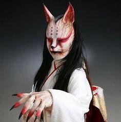 SFX, creepy bunny geisha