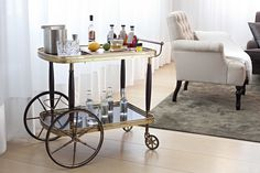 7 Over-the-Top Hotel Extras That Go Way Beyond the Minibar Unique Hotels, Top Hotels, Bar Carts For Sale, Resorts, Boutique Hotels London, Cordless Lamps, Edition Hotel, Bar Cart Styling, Custom Fireplace