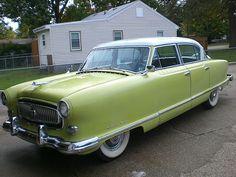 old+nash+automobile+ads | 1954 Nash Ambassador Picture 2